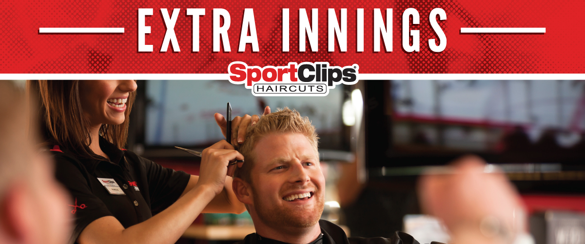 The Sport Clips Haircuts of Rockwall Extra Innings Offerings