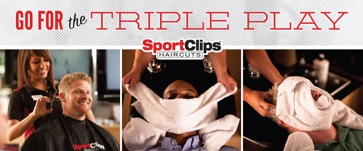 The Sport Clips Haircuts of Rockwall Triple Play